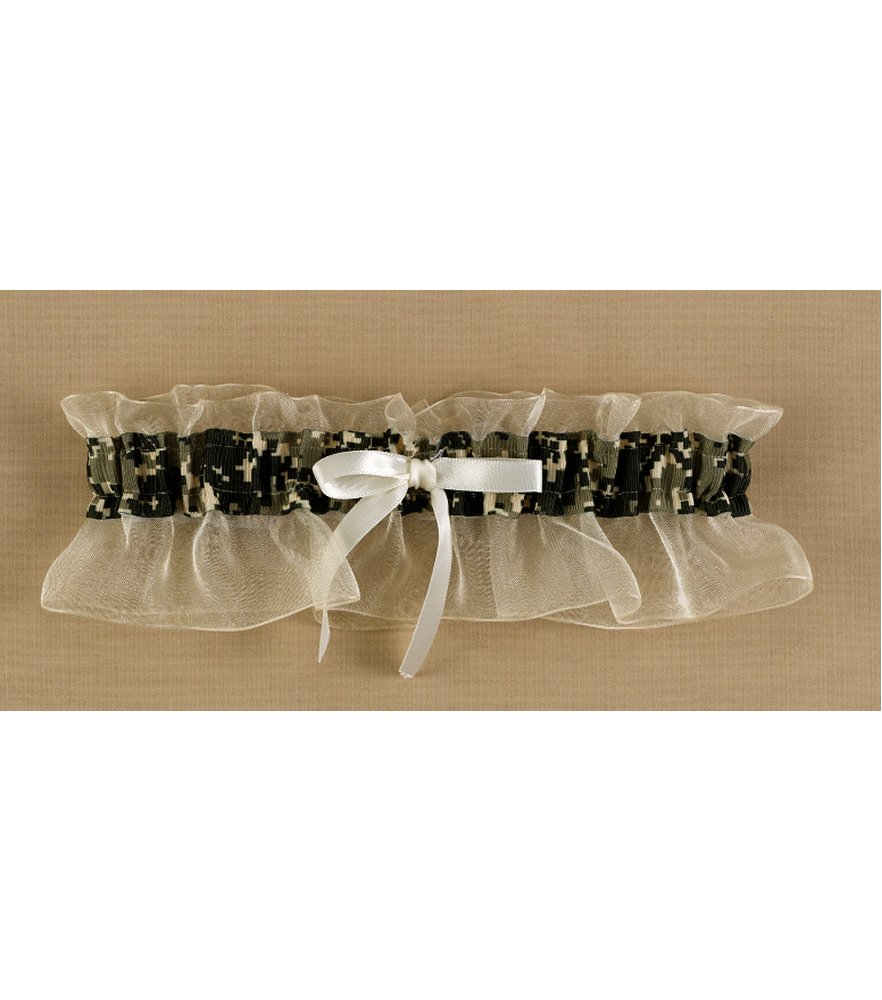 Well Suited Camo Garter
