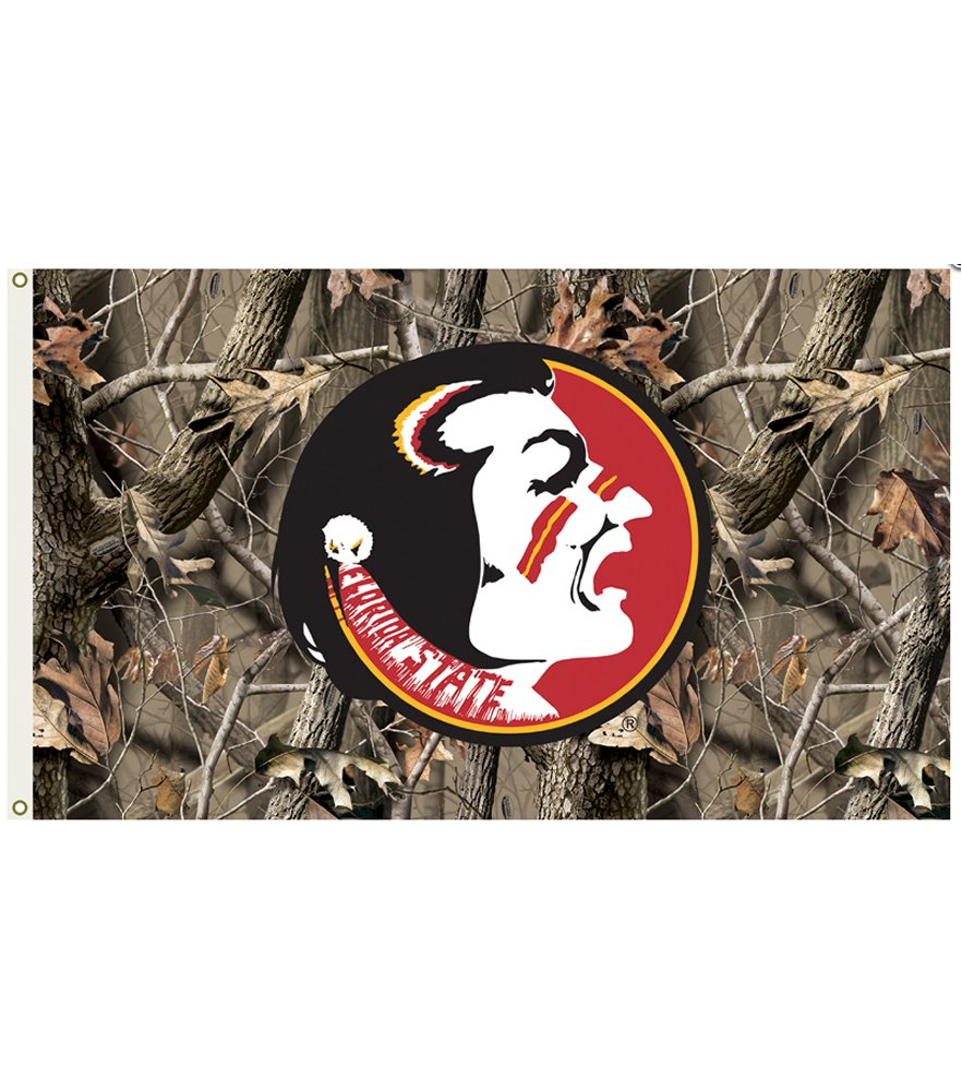 Florida State Seminoles Realtree Camo 3 x 5 Flag
