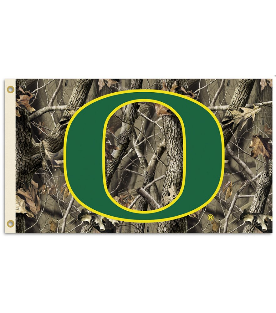 Oregon Ducks Realtree Camo 3 x 5 Flag