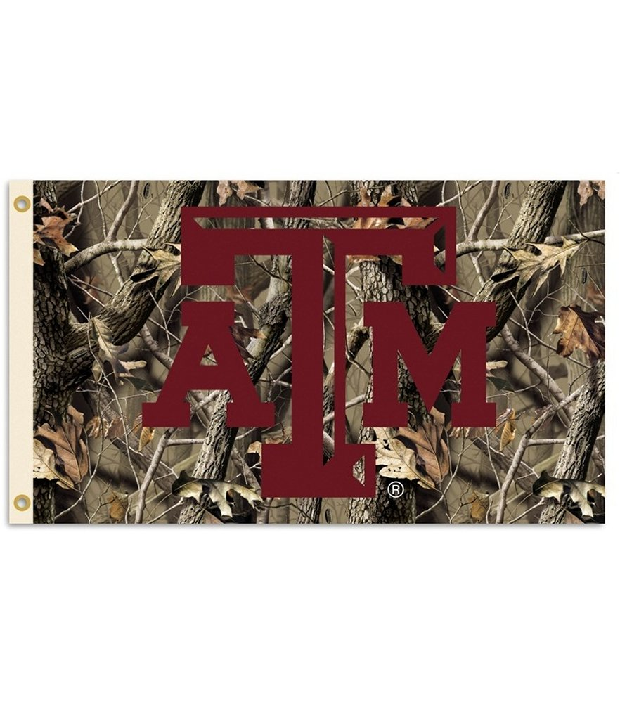 Texas A&M Aggies Realtree Camo 3 x 5 Flag