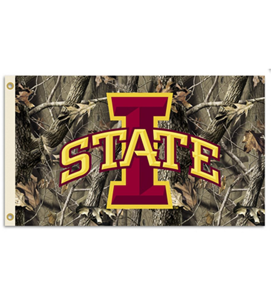 Iowa State Cyclones Realtree Camo 3 x 5 Flag
