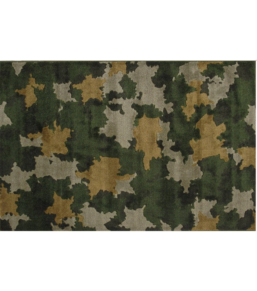 Camouflage 39 x 58 Area Rug