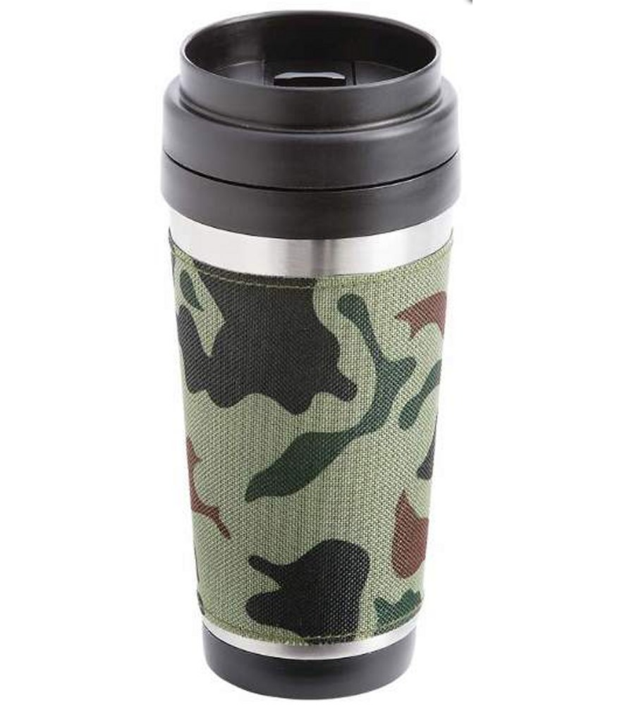 16oz Camo S Steel Double Wall Travel Tumbler