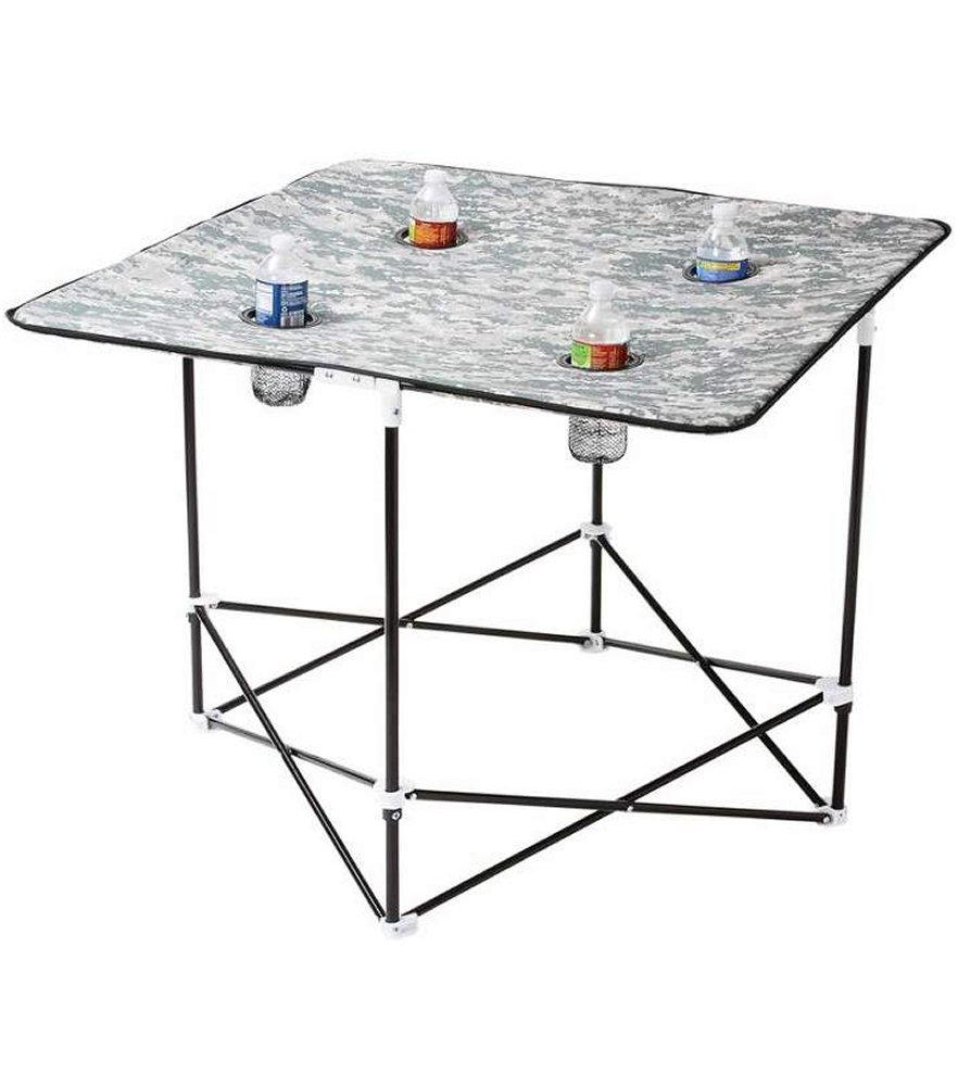 Digital Camo Camp Table