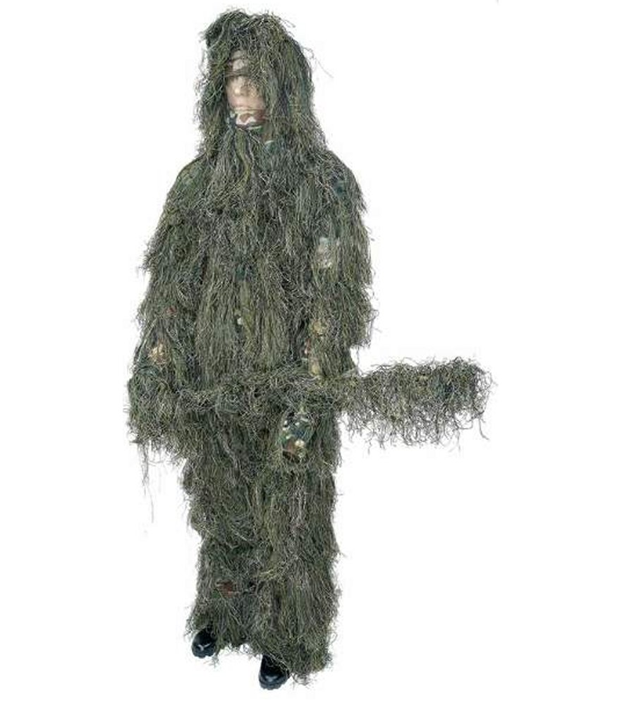 Classic Safari 4pc Woodland Ghillie Suit