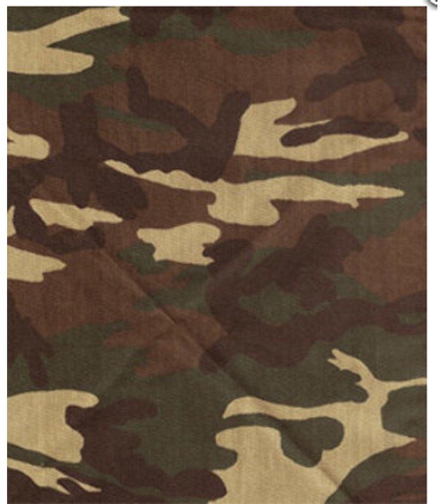 Camouflage Bandana for Dogs