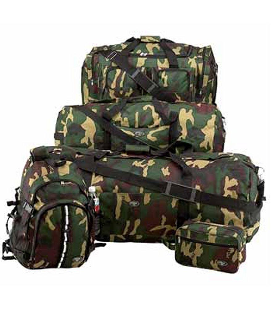 5pc Camo Luggage Set