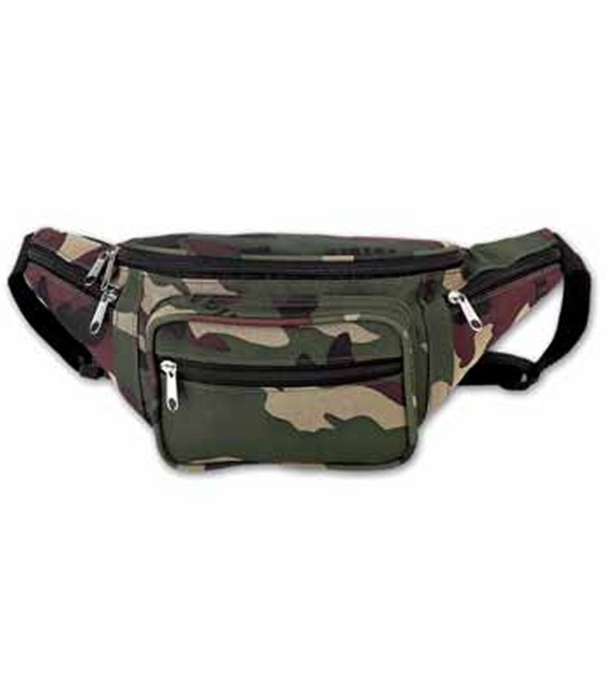Invisible Pattern Camo Waist Bag