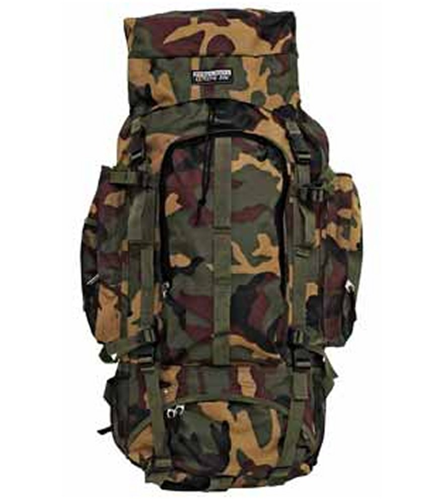 Camouflage Mountaineer's Backpack