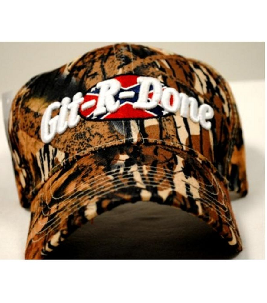 Adjustable Baseball Hat Caps Git R Done Camouflage