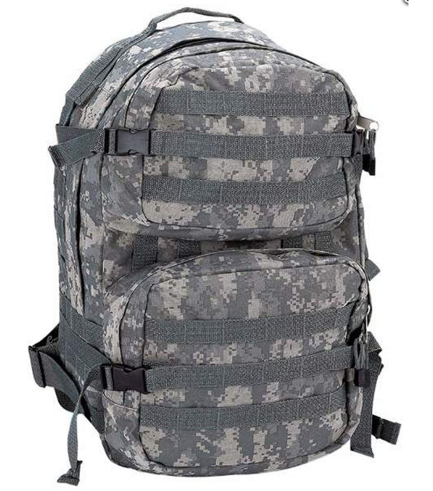 Heavy Duty Digital Camo Army Backpack