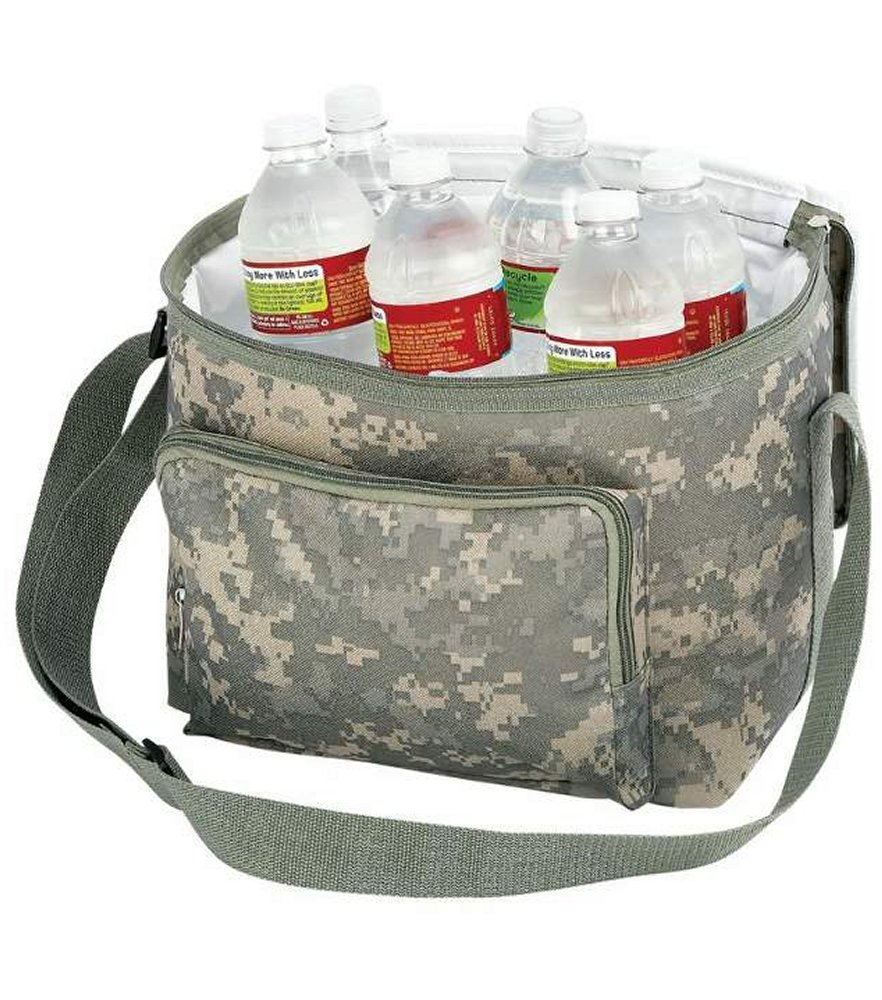 Heavy Duty Digital Camo Water Repellent Cooler Bag