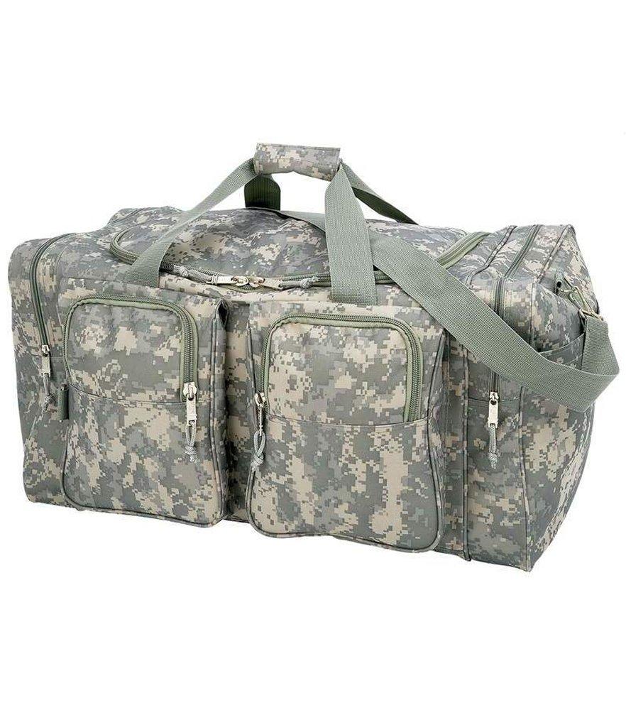 Digital Camo Water Repellent Tote Bag