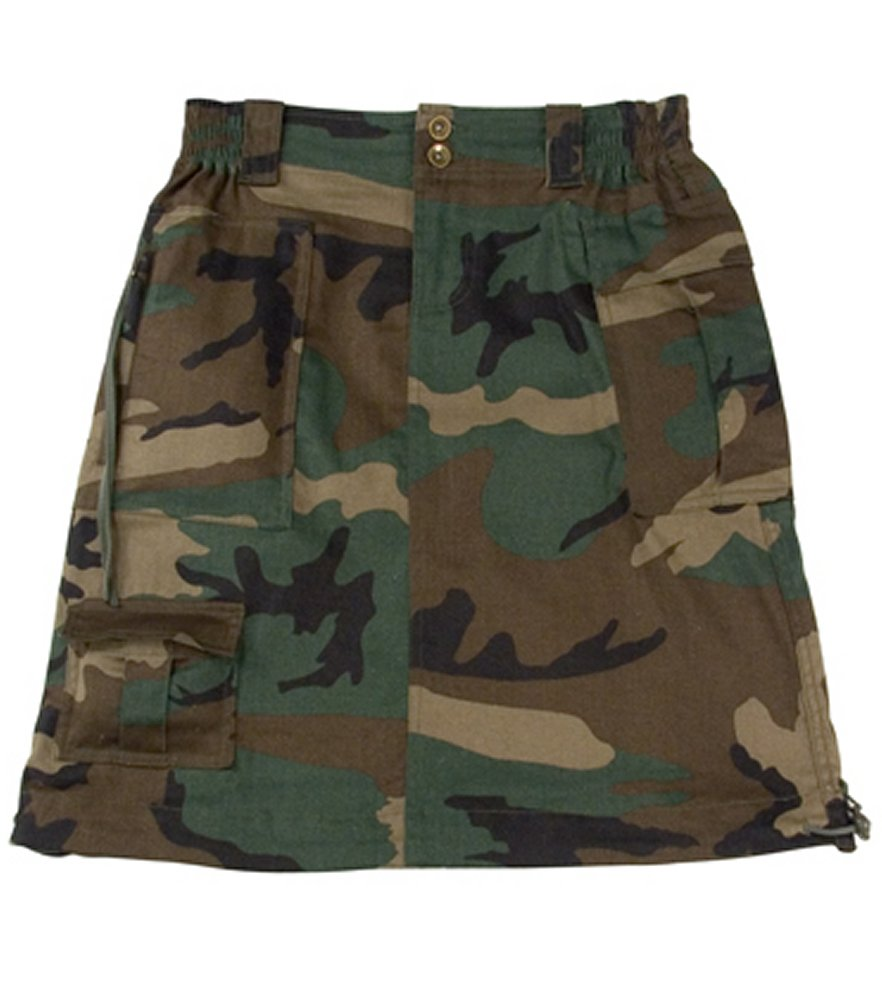 Womens Woodland Knee Length Skirt