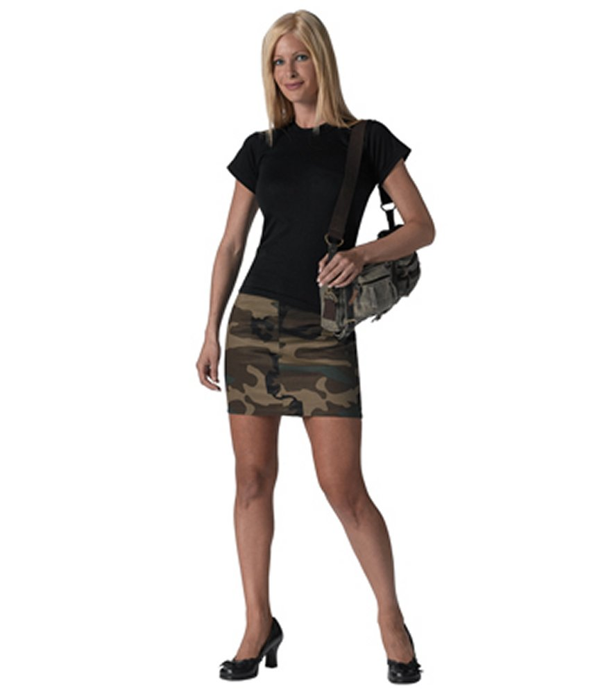 Womens Woodland Camo Skirt