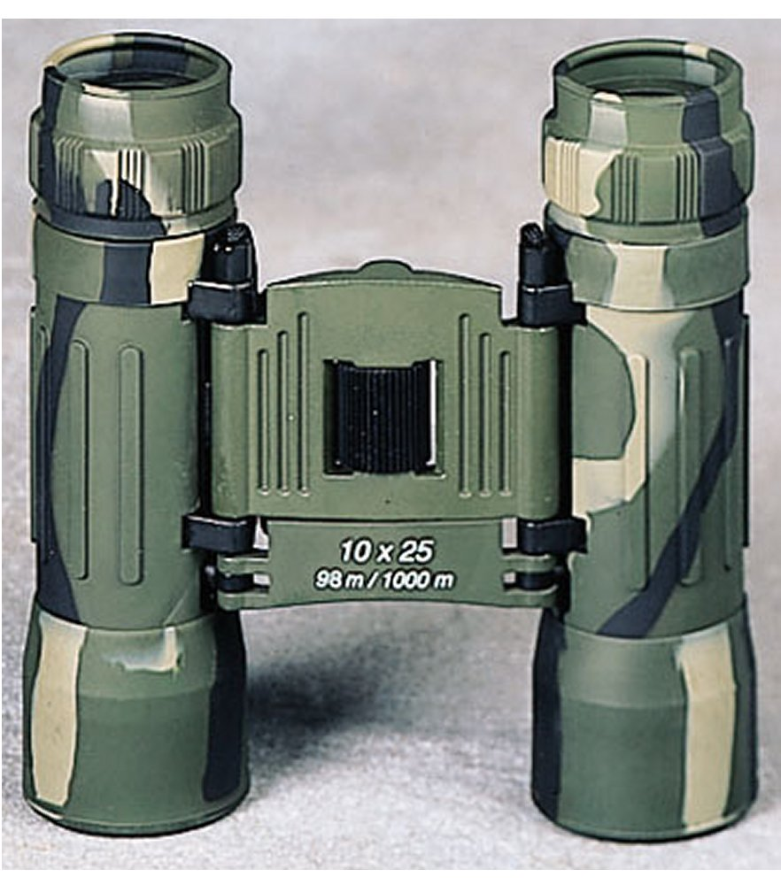 Compact Camo 10 X 25MM Binoculars