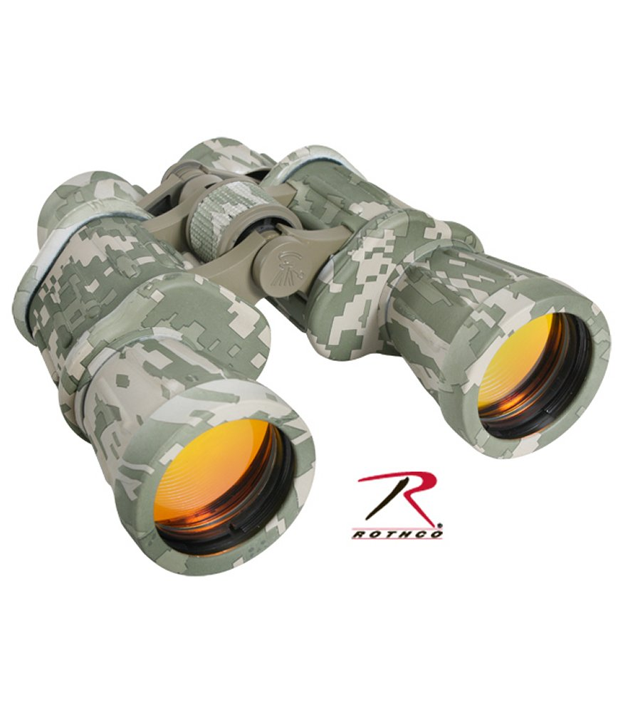 ACU Digital Camo 10 X 50MM Binoculars