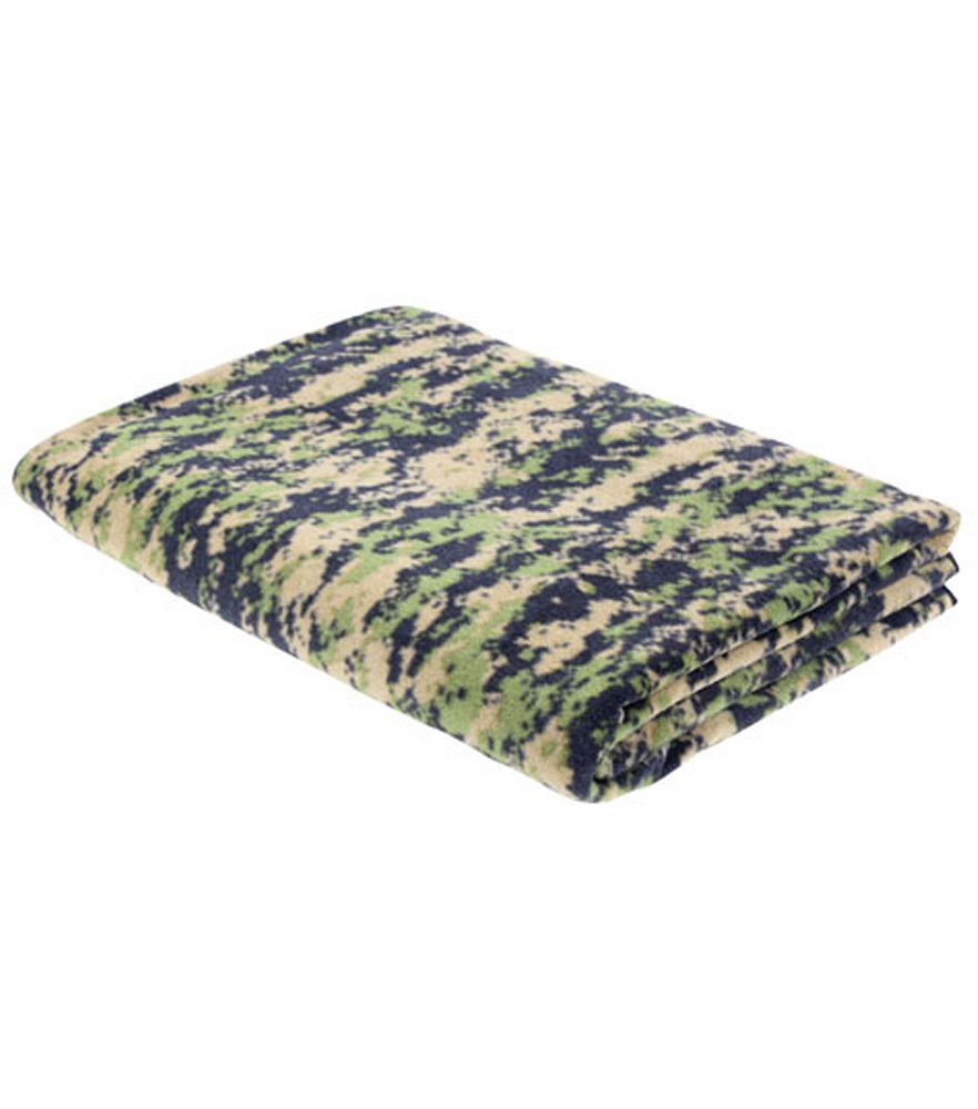 Woodland Digital Camo Fleece Blanket