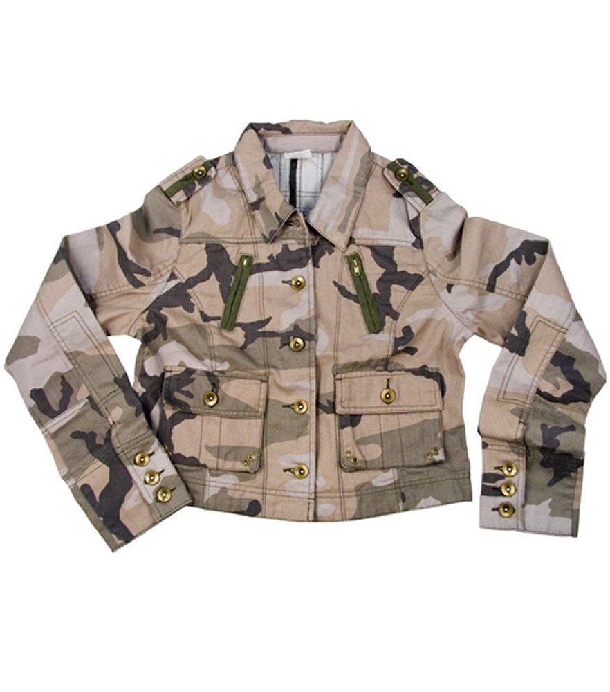 Womens Subdued Woodland Vintage Jacket