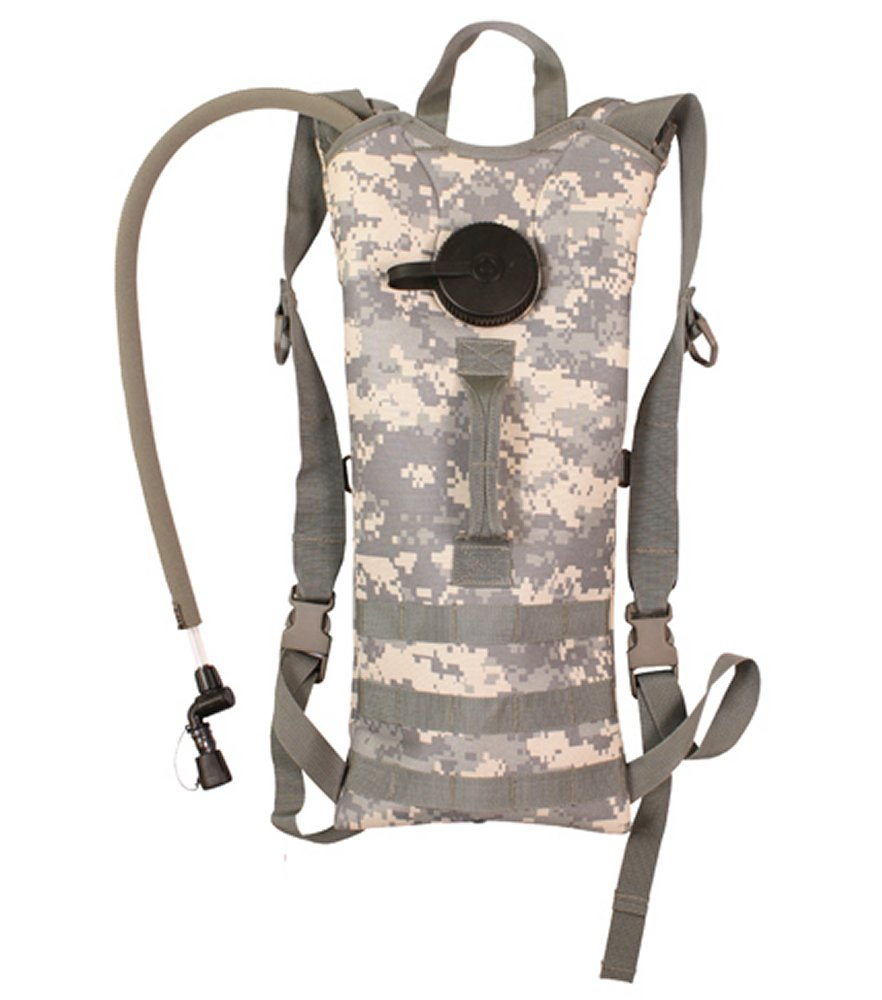 ACU Digital Camo Backstrap Hydration System