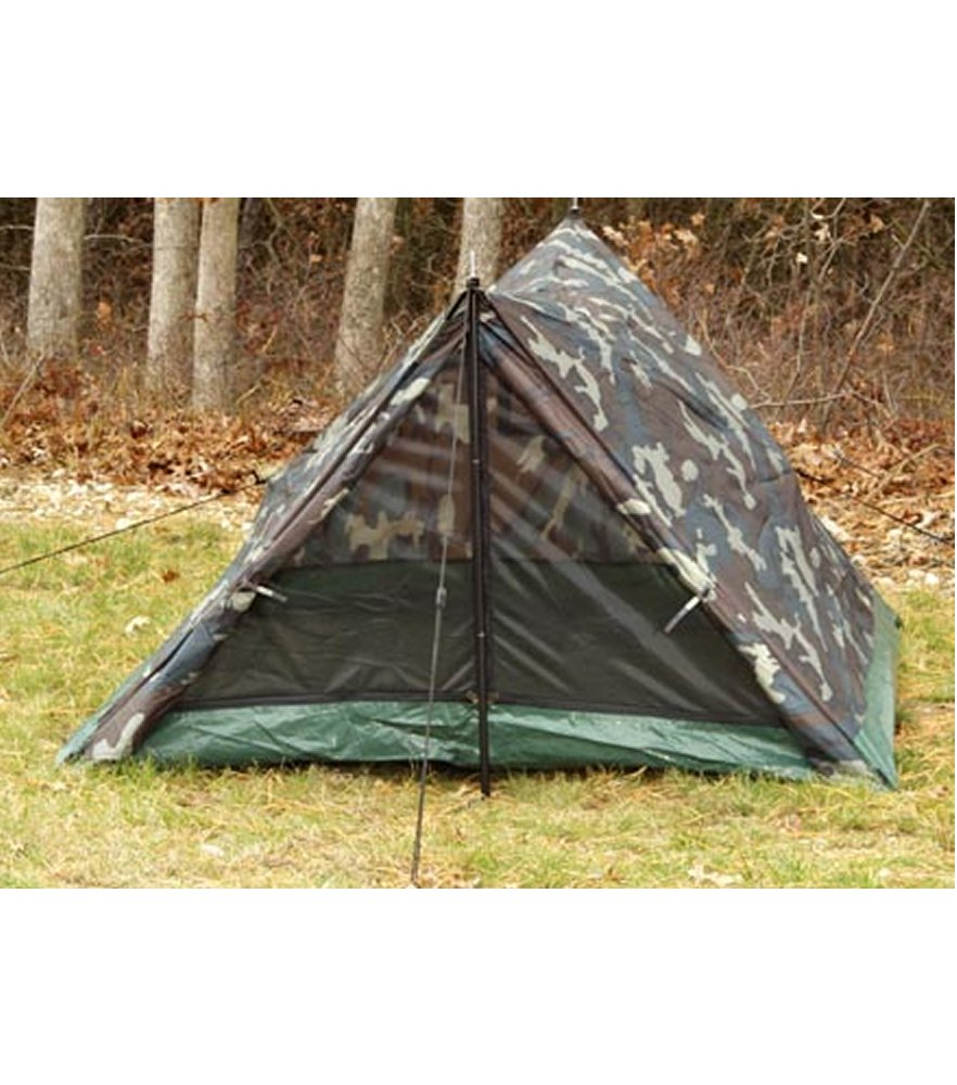 Woodland Camo 2 Man Trail Tent