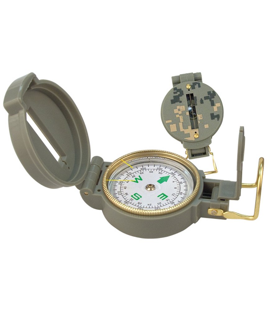 ACU Digital Camo Lensatic Compass