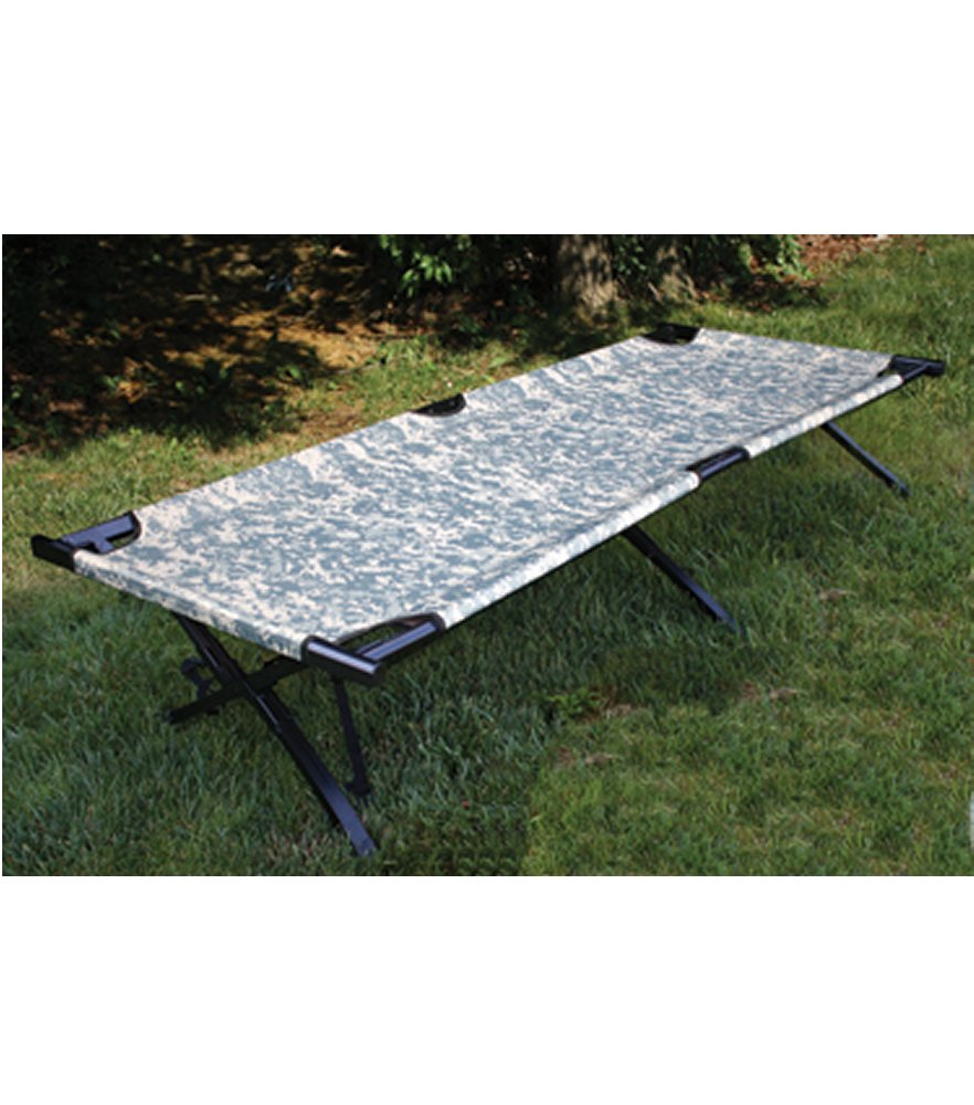 GI Type ACU Digital Camo Aluminum Folding Cot