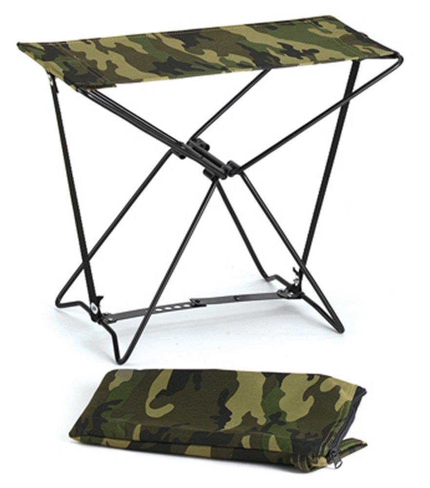 Woodland Camo Folding Camp Stool