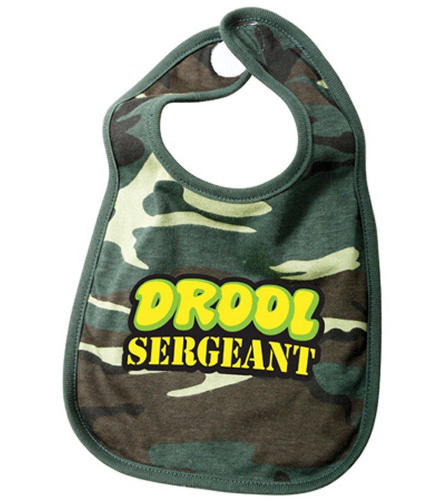 Woodland Camo Drool Sergeant Bib