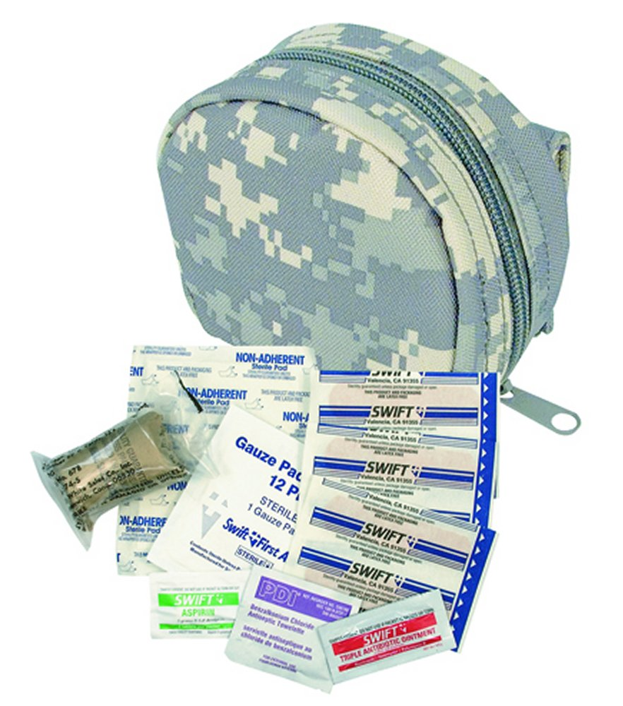 ACU Digital Camo M.O.L.L.E. Zipper First Aid Kit