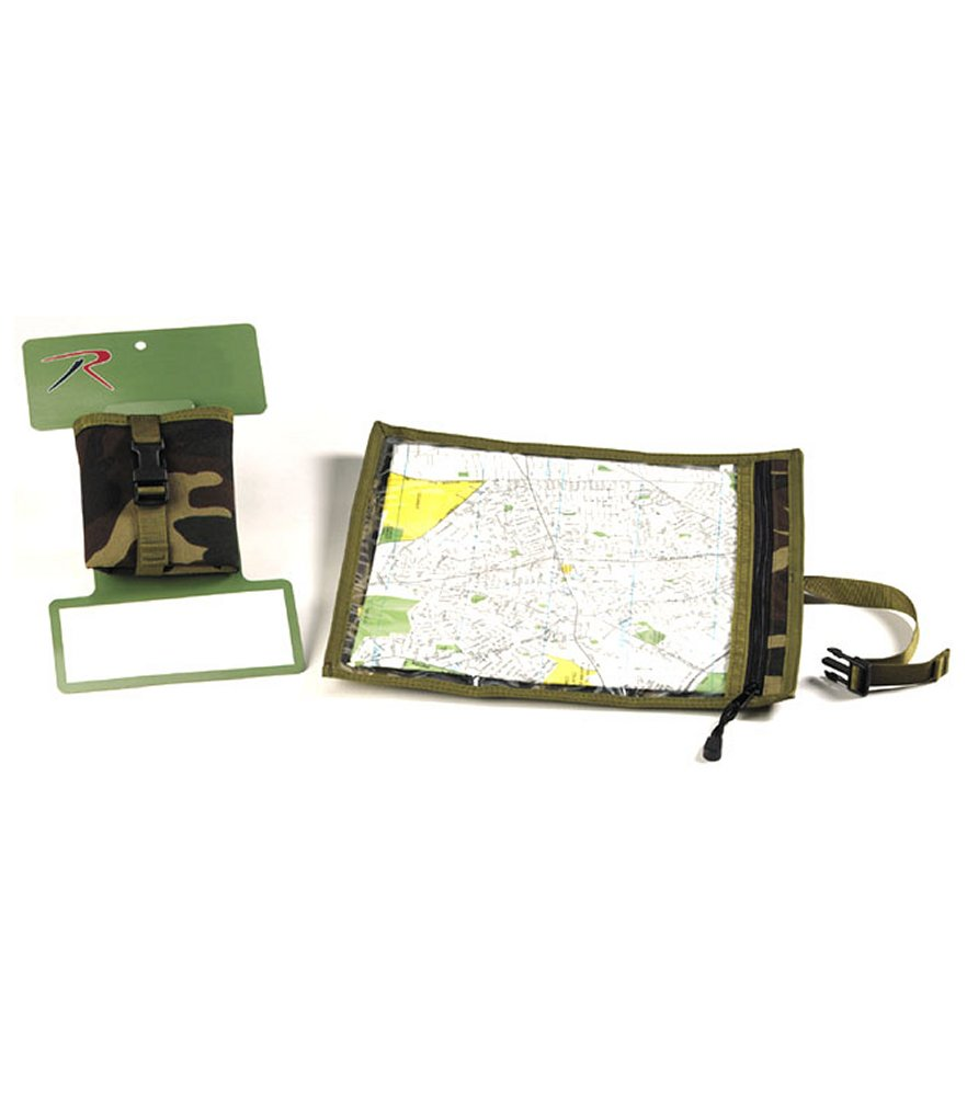 Camo Map & Document Case