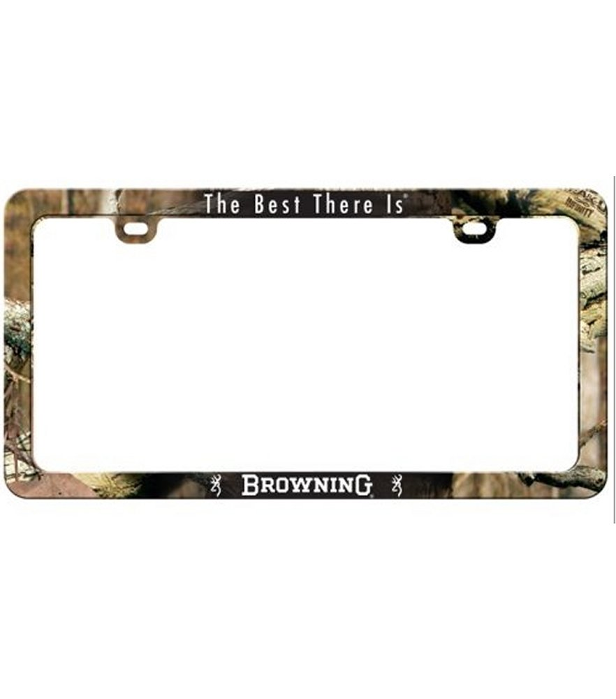 Browning Infinity Camo Universal License Frame