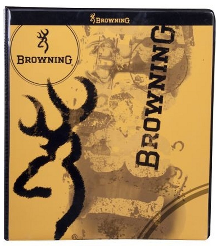 Browning 3 Ring Binder