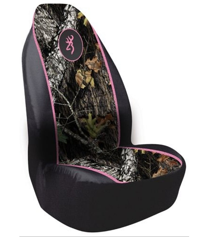 Browning Pull Over Camo Pink Seat Cover