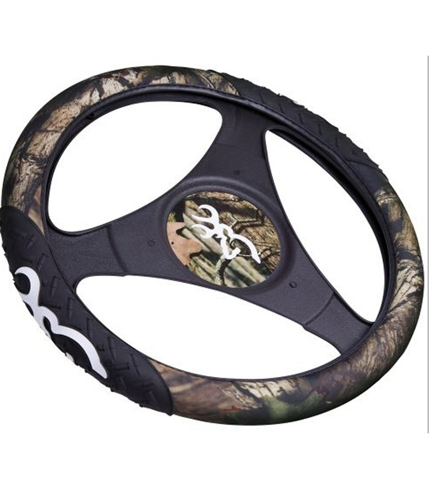 Browning Mossy Oak Infinity Rubber Molded Steering Wheel Cov