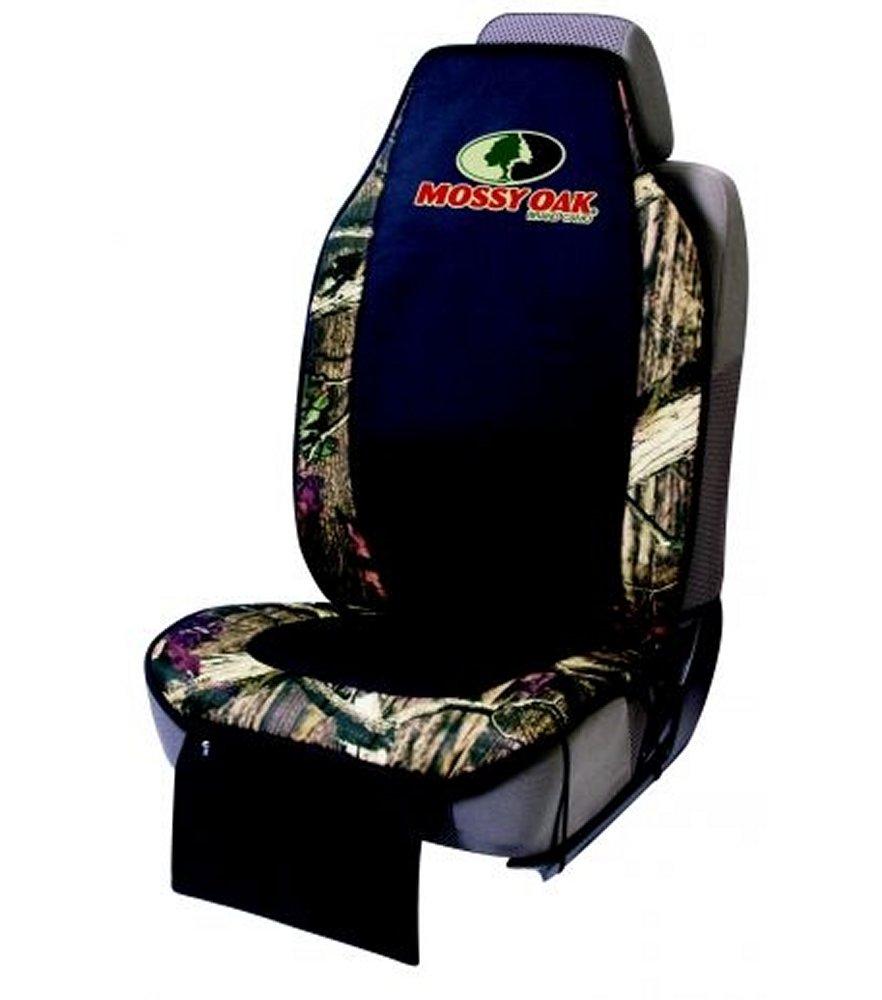 Mossy Oak Seat Cushion Break Up Infinity Camo and Black