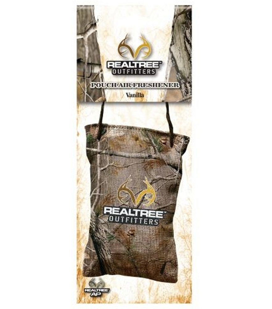 Realtree Outfitters Vanilla Scent Air Freshener Pouch