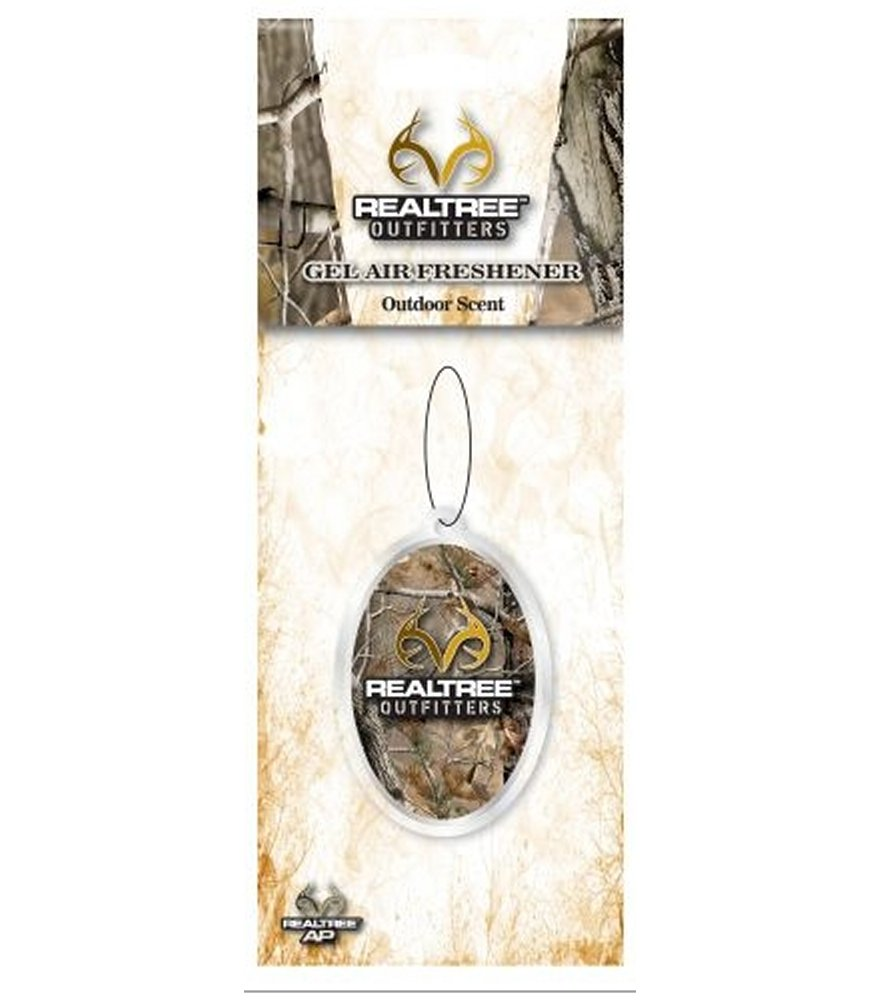 Realtree Outfitters Outdoor Scent Gel Air Freshener