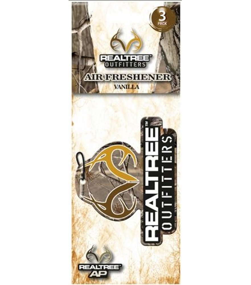 Realtree Outfitters Vanilla Scent Air Freshener