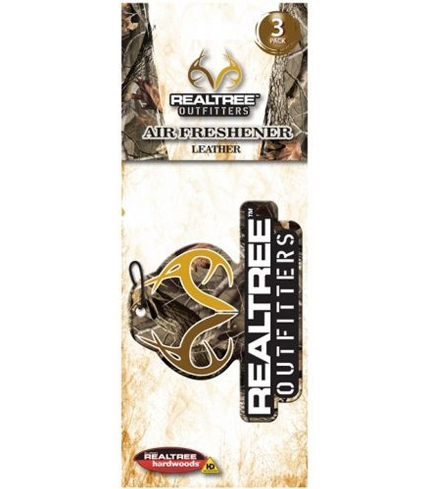 Realtree Outfitters Leather Scent Air Freshener
