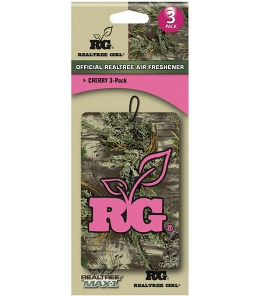 Realtree Girl Pink Cherry Scent Air Freshener
