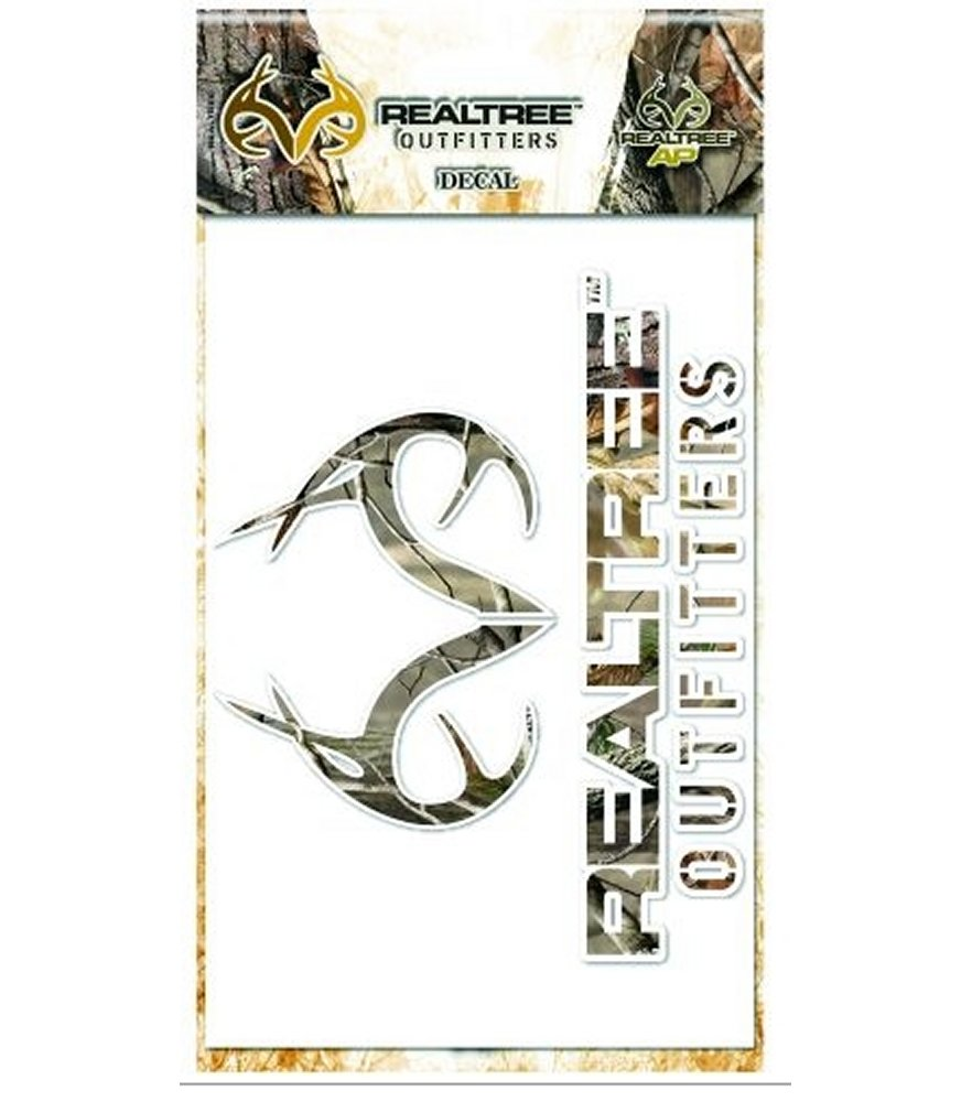 Realtree AP Camo Decal