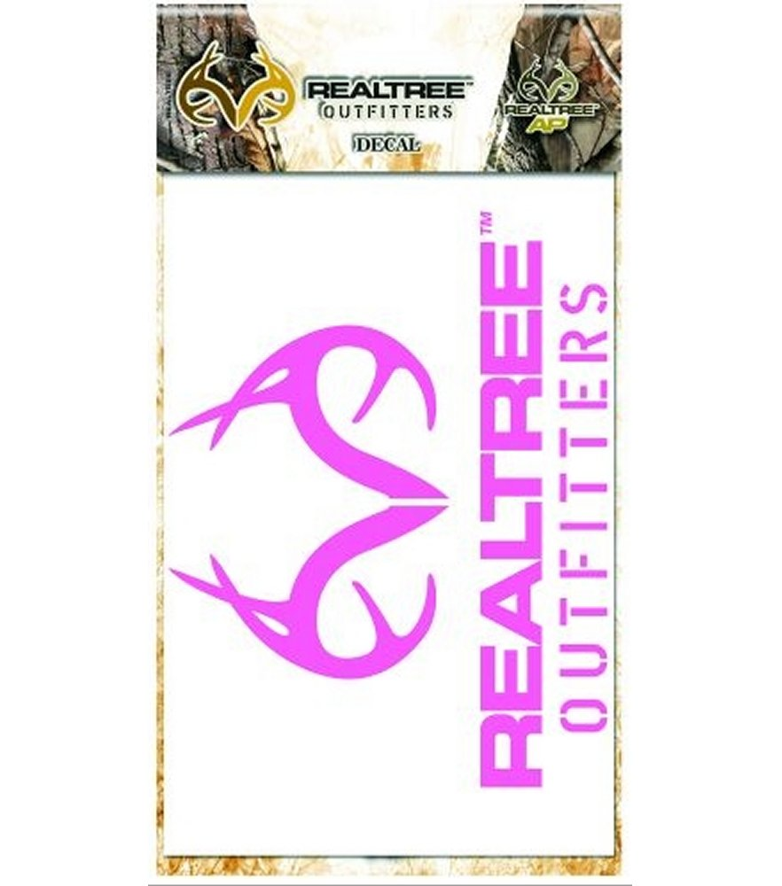 Pink Realtree Outfitters 5 inch Decal