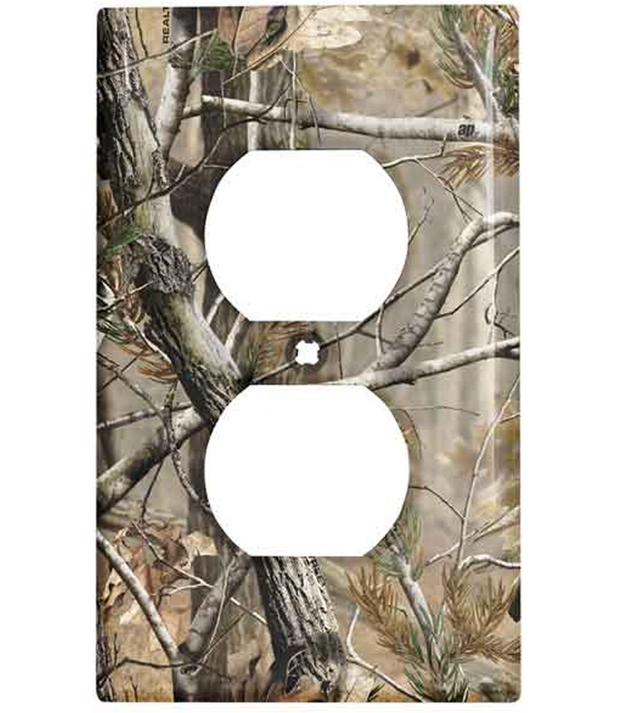 Plug And Light Switch Covers Shop Realtree Ap Camo Duplex Receptacle Wall Platerealtree