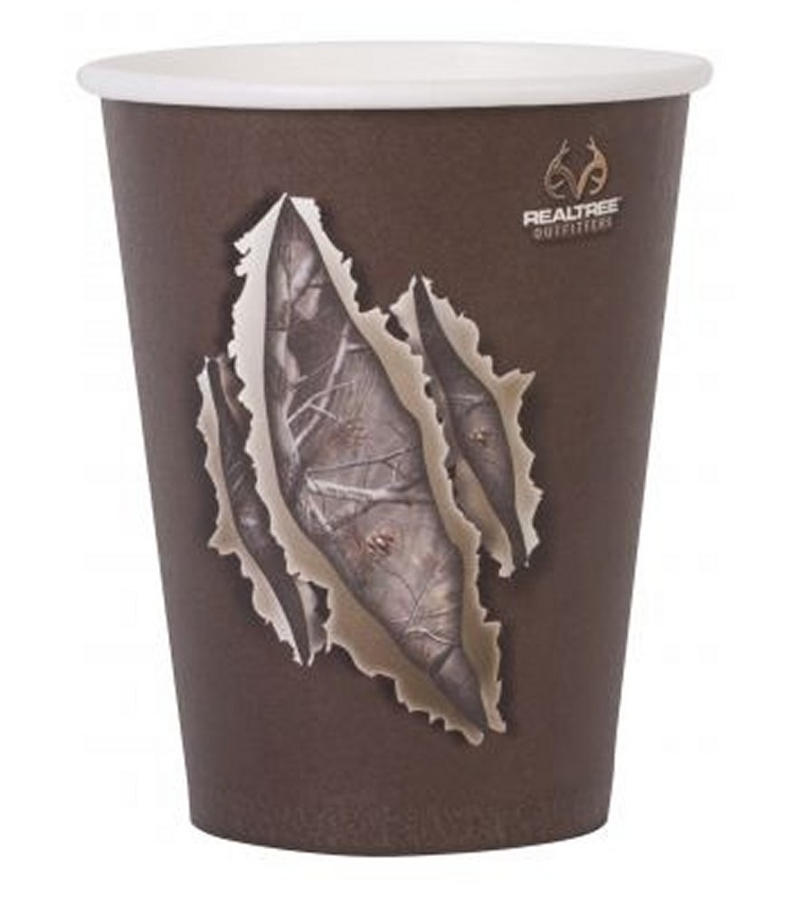 Realtree AP Camo 12oz Paper Cup