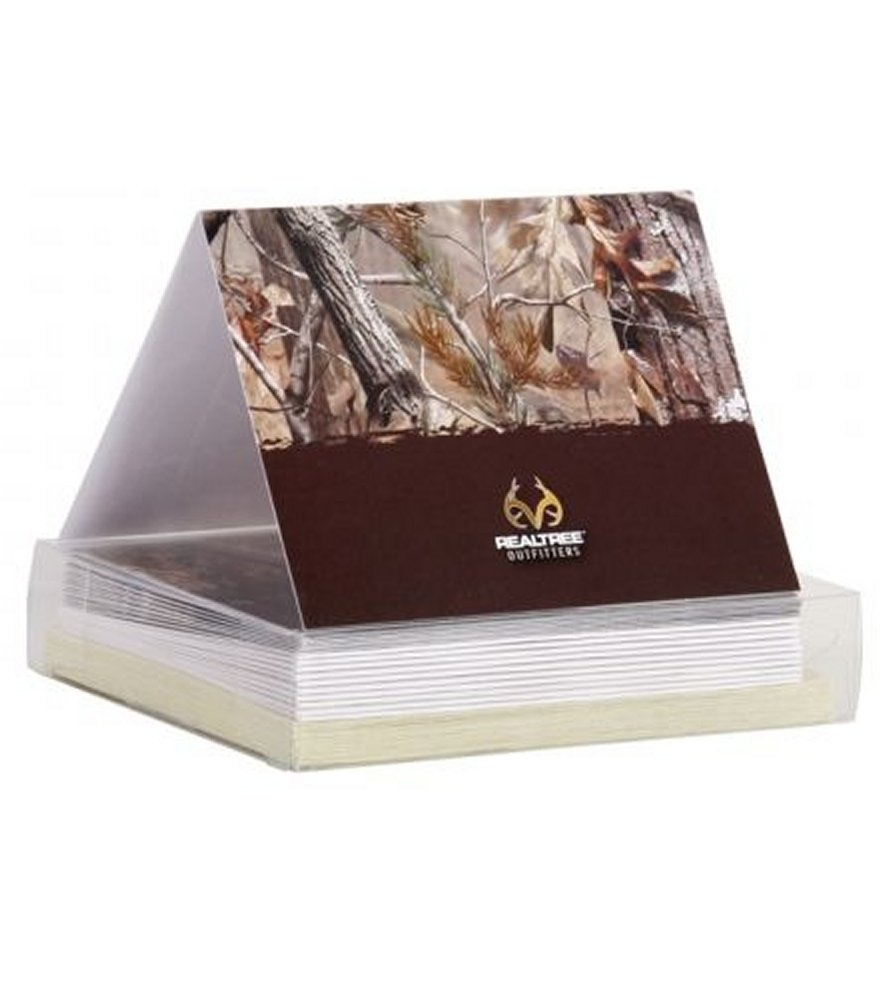 Realtree AP Camo Note Cards/Invitations with Envelopes