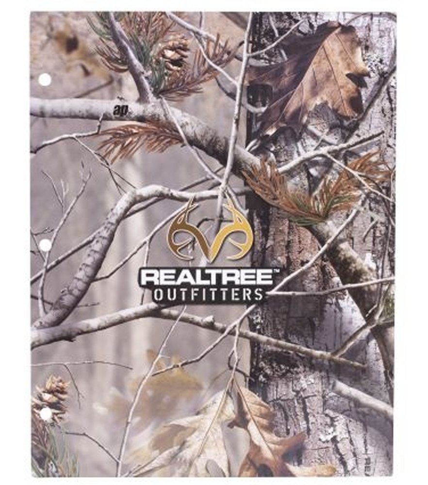 Realtree Outfitters 2 Pocket Folder