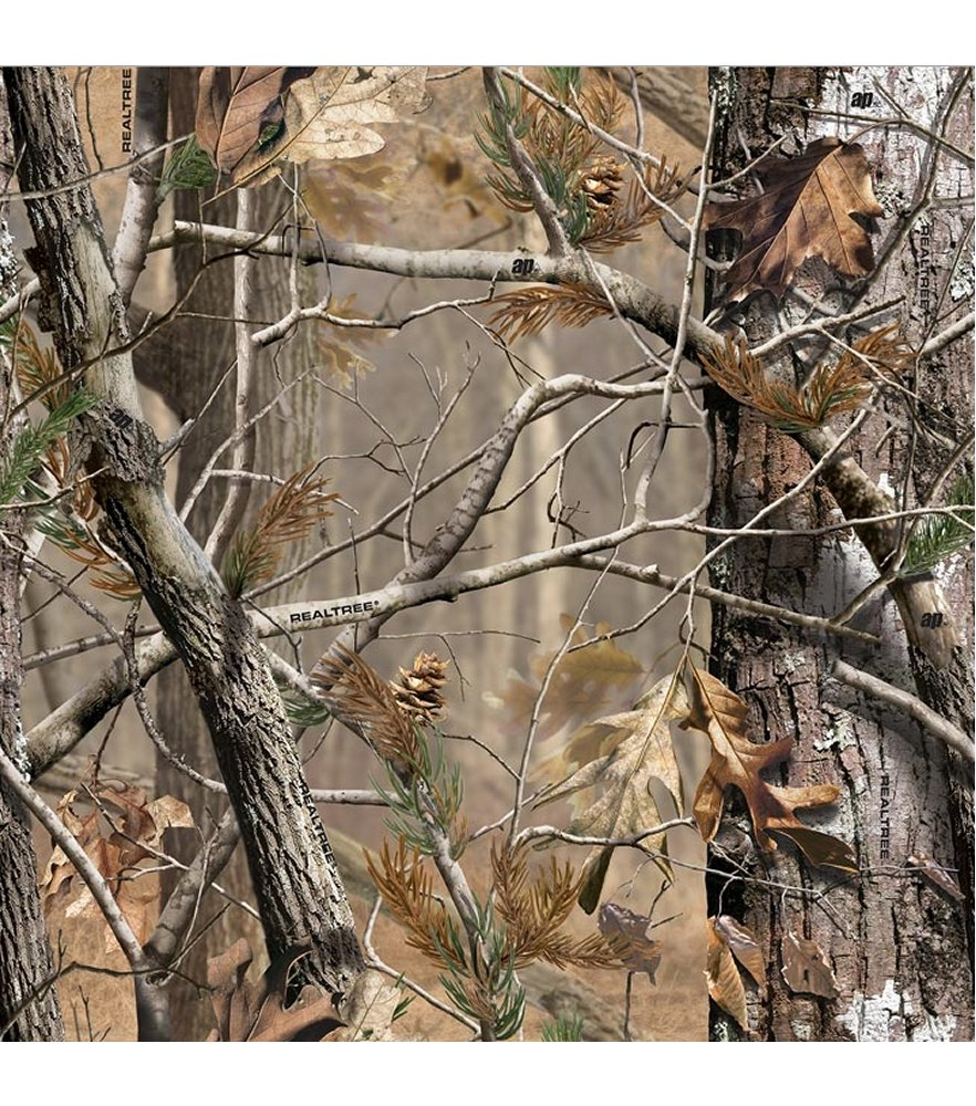 Mossy oak wrapping paper